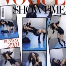 Karlie Kloss on the cover of Vogue Italia