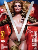 Lily Donaldson on the cover of V Magazine