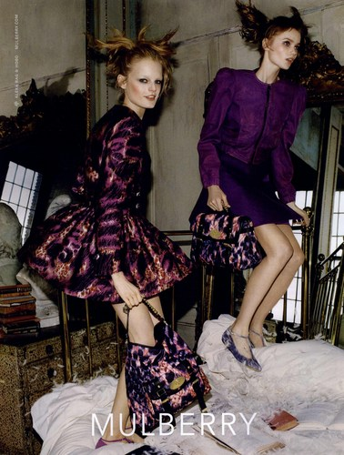 Mulberry A/W 2010-2011 Campaign