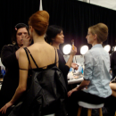 Backstage at Farah Angsana