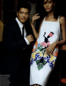 Bruno Mars & Joan Smalls