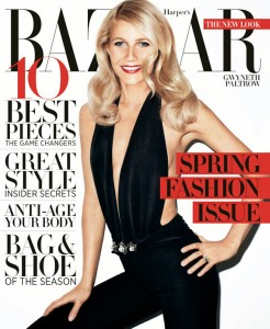 Harper's Bazaar Gwyneth Newstand Cover